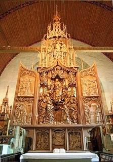 Creglingen Herrgottskirche Riemenschneider-Altar